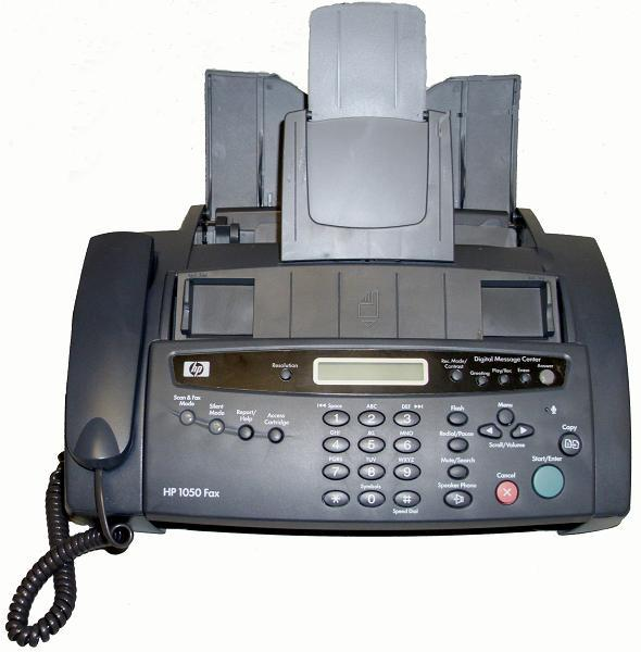 computer to fax machine